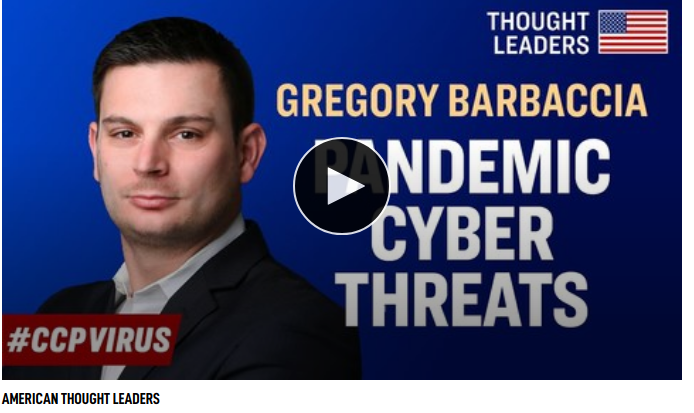 Increased Cyber Threats During the Pandemic, and How to Protect Your Data—Gregory Barbaccia
